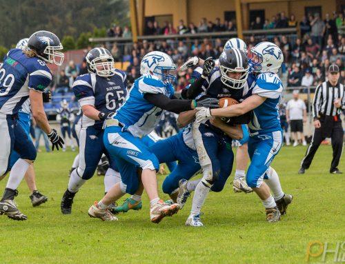 Blue Hawks gewinnen Derby gegen Air Force Hawks
